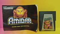 Atari 2600 Amidar Game & Instruction Manual Tested Works Rare