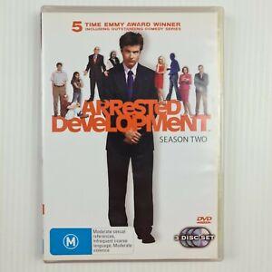 Arrested Development Season 2 DVD - 3 Disc Set - Region 4 - TRACKED POST