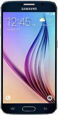 Open Box Samsung Galaxy S6 (SM-G920AZ) 32GB Black Onyx Cricket Wireless Locked