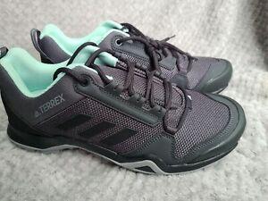 Adidas Terrex AX3 GORE-TEX Women's Shoes Charcoal/Mint  Size 8 Eu 42 rrp£99