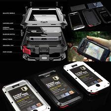 Waterproof Shockproof Aluminum Gorilla Metal Cover Case for Apple iPhone 4 4S