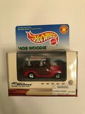 HOT WHEELS JC Whitney 40's Woodie red