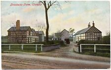 P.C Brookside Farm Cheadle Near Stockport Cheshire Good Cond P U 1904 Pub Marsh