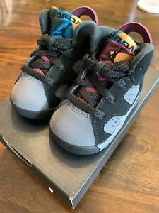 Jordan 6 Retro (TD) Bordeaux Sneakers size 3c In Hand!