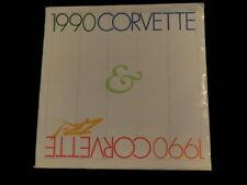 Vintage 1990 Chevrolet Corvette Car Dealer Sales Brochure Album  UNOPENED   A22
