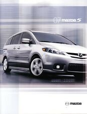 2007 07 Mazda 5 Series  original sales brochure MINT