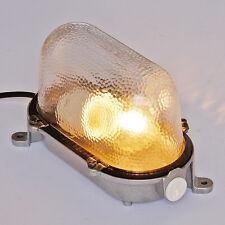 German Vintage Factory Lamp, Industrial Design Light Lamp Wall Ceiling Light