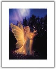Matted Keeper of Lost Hearts Fairy Art Print~Affordable Art~8x10~Fantasy