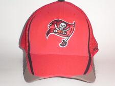 Tampa Bay Buccaneers BURNER Hat Red S/M ($26) NEW Mesh Flex PLAYER NFL Sideline