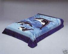 Original Solaron Korean Blanket Thick Mink Plush Queen size Dolphin