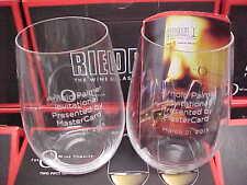 ARNOLD PALMER Set of (2) Riedel O Wine Tumbler Riesling Sauvignon Blanc New