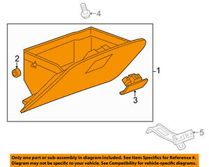 Chevrolet GM OEM 13-15 Spark-Glove Compartment Box Assy 95937533