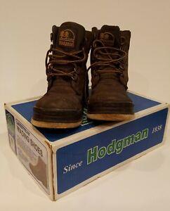Hodgman Wading Boots Lakestream Felt Sole Shoes 19210 Canvas Fishing Size 10