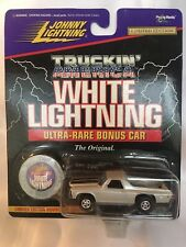 Johnny White Lightning Truckin' America White 1971 Chevy El Camino SS