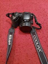Nikon COOLPIX L120 14.1MP 21x Digital Camera - Black