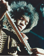 Jimi Hendrix 8 X 10 Photo With Ultra Pro Toploader