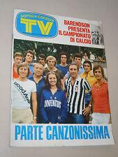 TV SORRISI CANZONI=1973/40=CANZONISSIMA=SERGIO LEONE TERENCE HILL=ALBERT HAMMOND