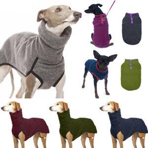 Pet High Collar Pullover Warm Winter Dog Comfort Vest Jumper Coat Hound Top