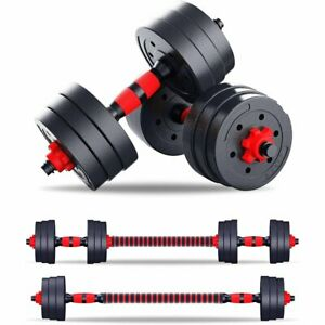 20 KG Dumbells Pair Gym Weights Barbell Dumbbell Body Building Free Weight Set