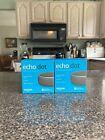 Lot of (2) NEW Amazon Echo Dot (3rd Generation) Smart Speakers