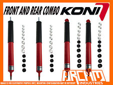 LAND ROVER DISCOVERY SERIES 1 89-94 KONI ADJUSTABLE FRONT & REAR SHOCK ABSORBERS
