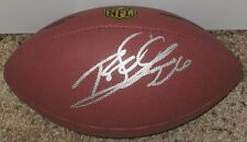 ROD WOODSON Signed Wilson Premier Official Size NFL Football-PITTSBURGH STEELERS