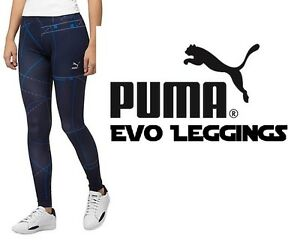 PUMA Evo Legging/ Casual Pant (Peacoat) Women's Size Large (L) New with Tags