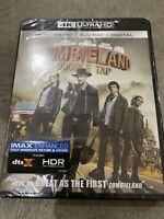 Zombieland Double Tap 4K Ultra HD Blu Ray Digital NEW