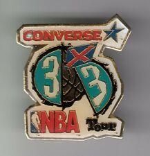 RARE PINS PIN'S .. SPORT CHAUSSURE SHOES SPORTWEAR CONVERSE NBA BASKET BALL ~EK