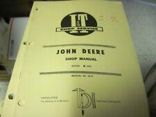 I&T John Deere Tractor 2040 Shop Service Manual Jd 41