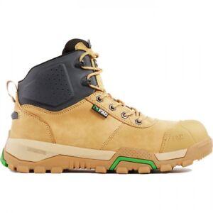 FXD work boots WB2 safety shoe composite toe zip sider AU design + FREE 10 socks