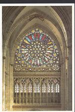 Religion Postcard - Stained Glass Window, Rouen, Abbaye De Saint-Ouen  LE48