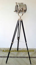 Authentic Spotlight Floor Lamp The Beautiful Lamp With Wooden Tripod Stand Gift