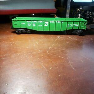 Lionel 9141 Burlington Northern Gondola Car O Gauge No Box