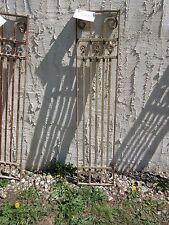 Antique Victorian Iron Gate Window Panel Fence Architectural Salvage Door #402