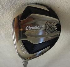 LH - Cleveland 588 - 3/15.5* Wood w/Ozik 6Q3 Regular Graphite Shaft
