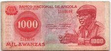 Angola 1000 Kwanzas 1979 P-117 Banknote - n106