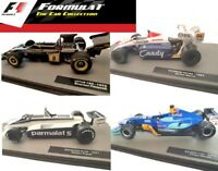 Panini Formula 1 The Car Collection - F1 Die Cast Cars & Magazines - Senna etc