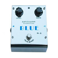 "Biyang BL-8 ""Blue"" Blues Overdrive Effects Pedal"
