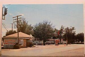 Montana MT Miles City Sagebrush Motel Postcard Old Vintage Card View Standard PC