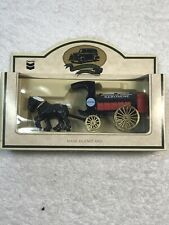 Vtg CHEVRON COMMEMORATIVE Model DIE-CAST Metal Horse Drawn Wagon Kerosene NIB