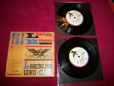 """RARE  ISD 237 - The Long Ryders - Looking For Lewis  -  2 X 7"""" - NM VINYL W/ PS"""