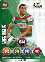 ✺Mint✺ 2016 SOUTH SYDNEY RABBITOHS NRL Card GREG INGLIS