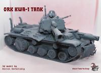 "Orks Tank ""KWa-1"" Model Kit for Warhammer 40000"