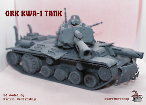 "Orks Tank ""KWa-1"" Model Kit for Warhammer 40000"