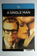 A SINGLE MAN COLIN FIRTH MOORE COVER ART MINI POSTER BACKER CARD (NOT a movie)