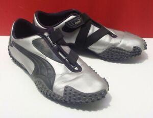 RARE SILVER PUMA Mostro LDN Black - Silver US size 9.5