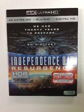Independence Day: Resurgence (4K Ultra HD + Blu-ray + Digital HD) 2016 BRAND NEW