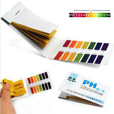 2X 80pH 1-14 Universal Full Range Litmus Test Paper Strip Tester Indicator Urine