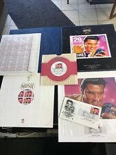 Elvis Commemorative Stamp Album 6 Piece Set 1993 First Day Issue NIB